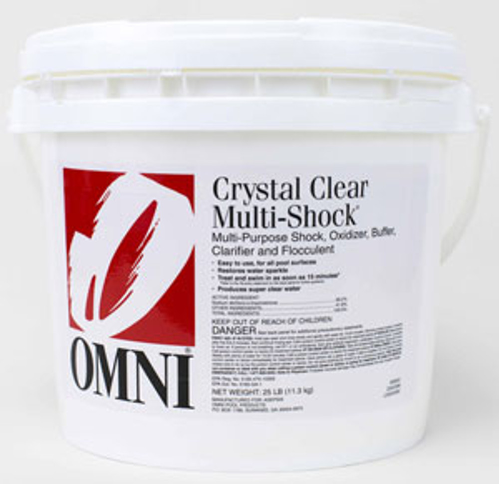 Omni Crystal Clear Multi-Shock® - 25 lb  -  23034