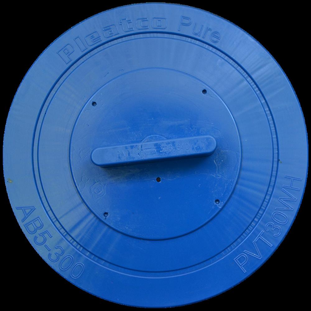 Pleatco PVT30W-F2M-M - Replacement Cartridge - Vita Spas AB5-300 Microban - 30 sq ft, top