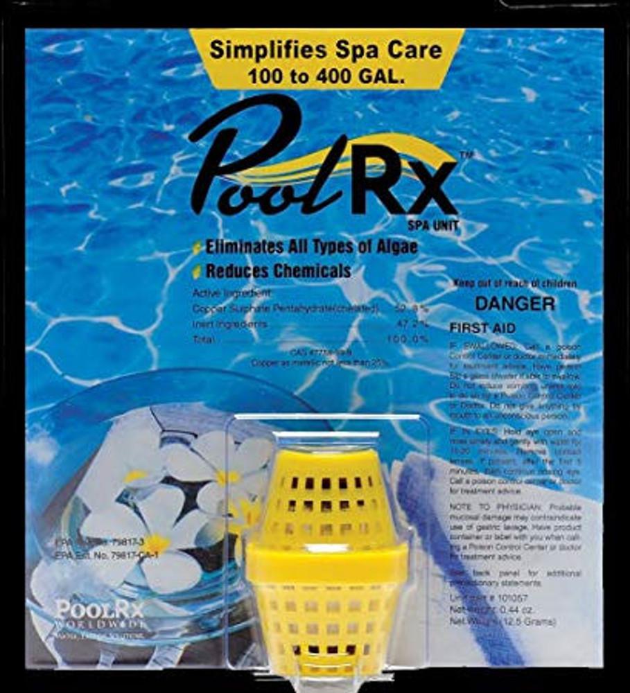 PoolRX Mineral Unit - Yellow Unit for 100- 400 gallon Spas - PRX101057