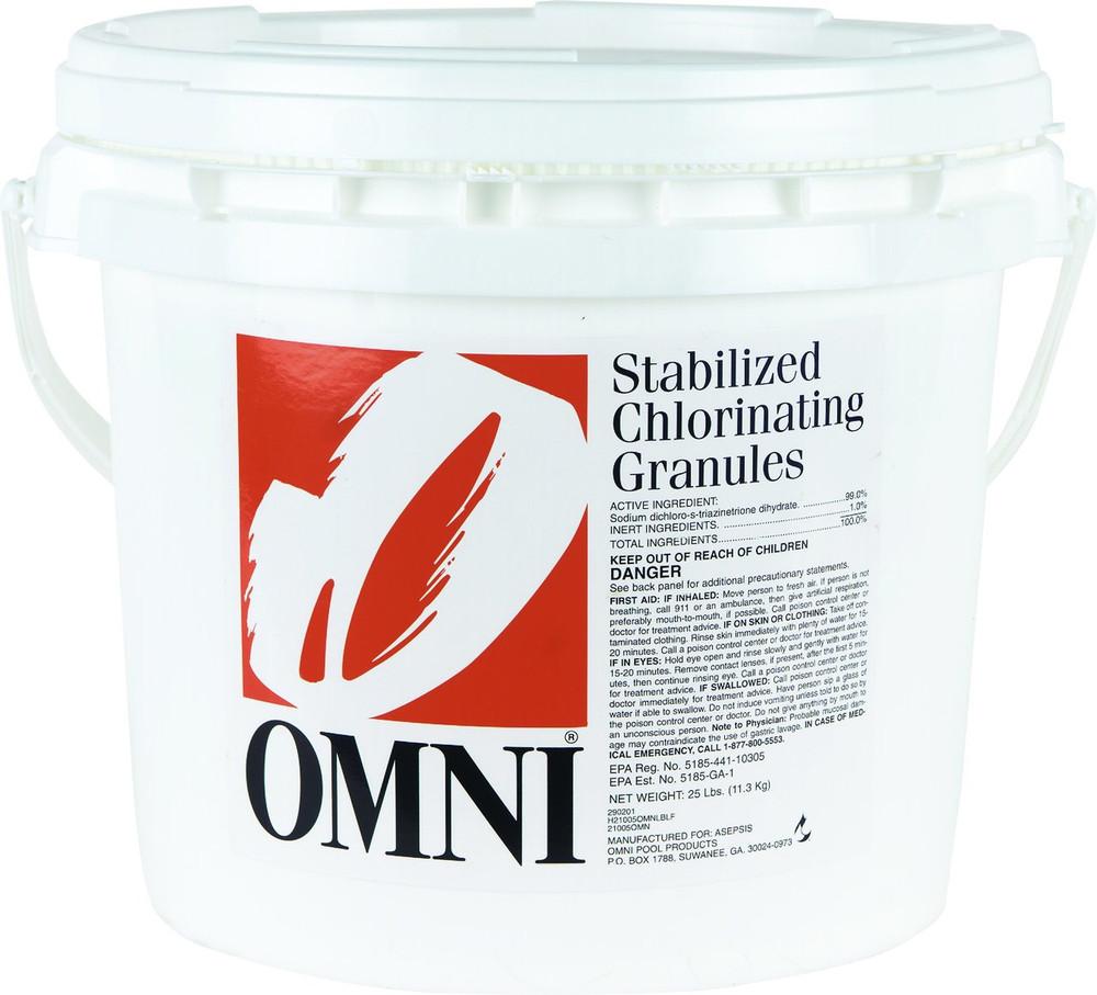Omni Chlorinating Granules - 45 lb  -  21045