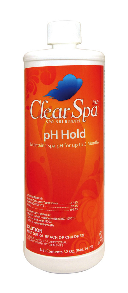 ClearSpa 104 pH Hold - 1 qt  -  CSLHQT12