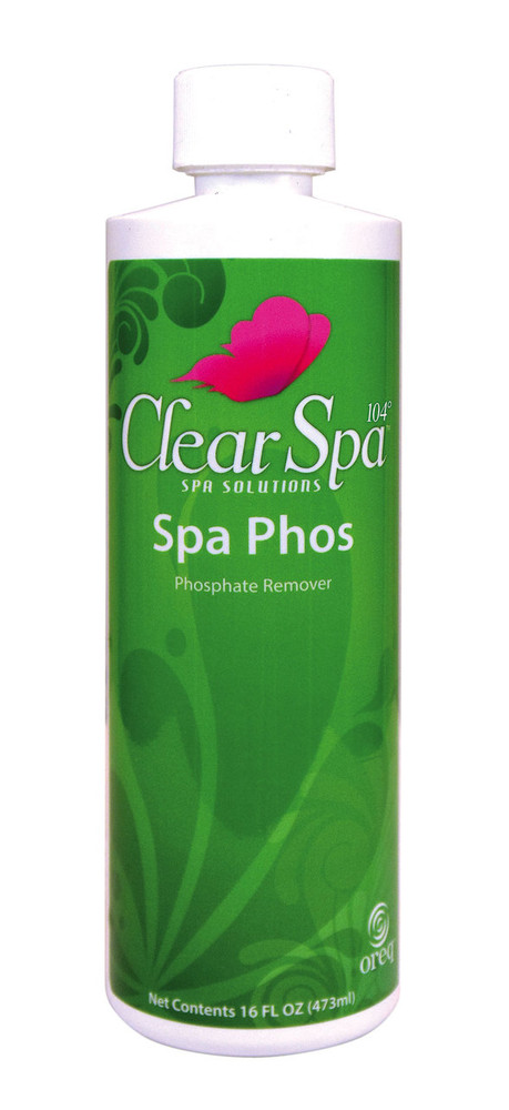 ClearSpa 104 Spa Phos - 16 oz  -  CSLPBPT12