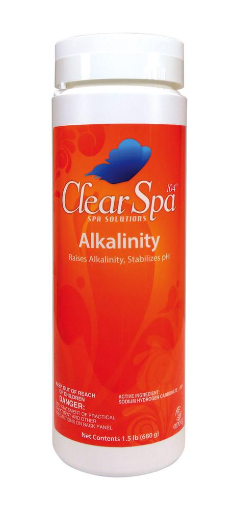 ClearSpa 104 Alkalinity - 2 lb  -  CSTA002