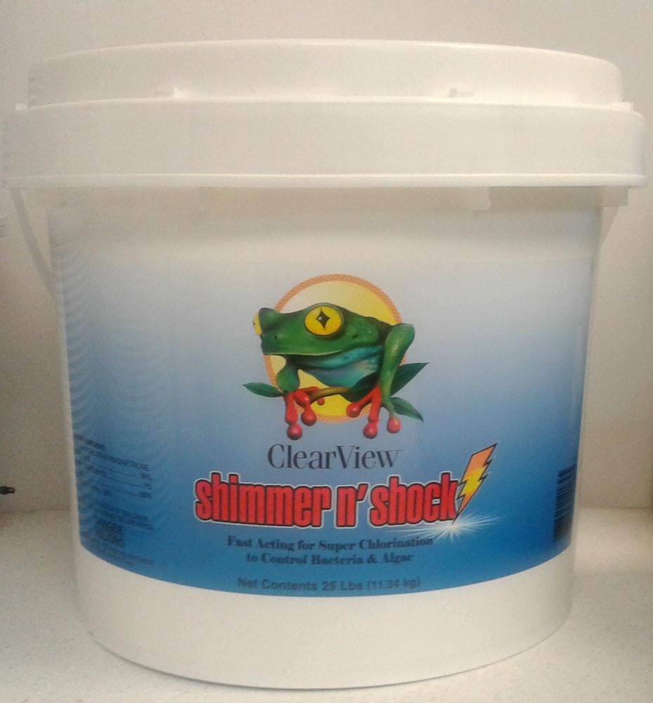 ClearView Shimmer-N' Shock - 25 lb  -  CVDB025