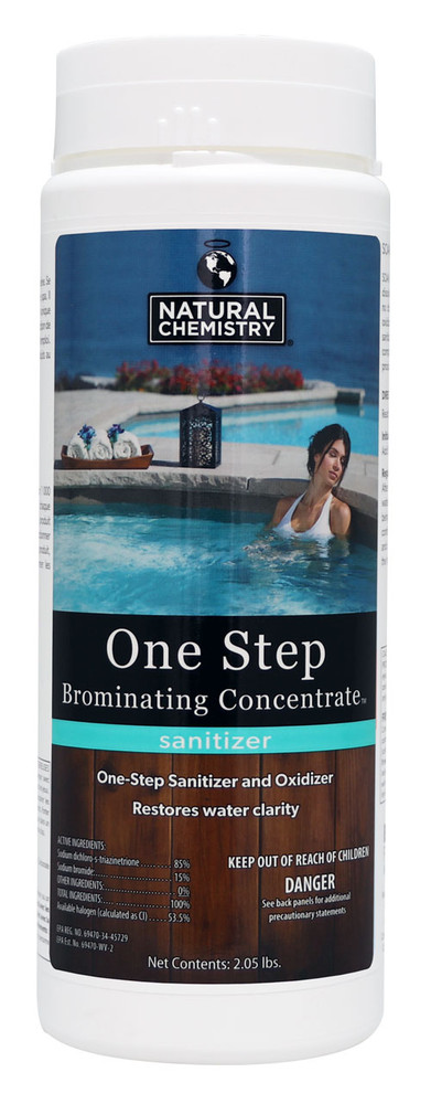 Natural Chemistry One Step Brominating Concentrate - 2.0 lb  -  04224