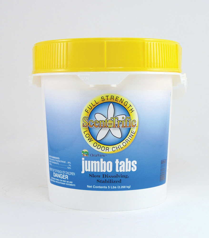 ClearView Scent-Trific Jumbo Tabs - 5 lb   CVTLST005