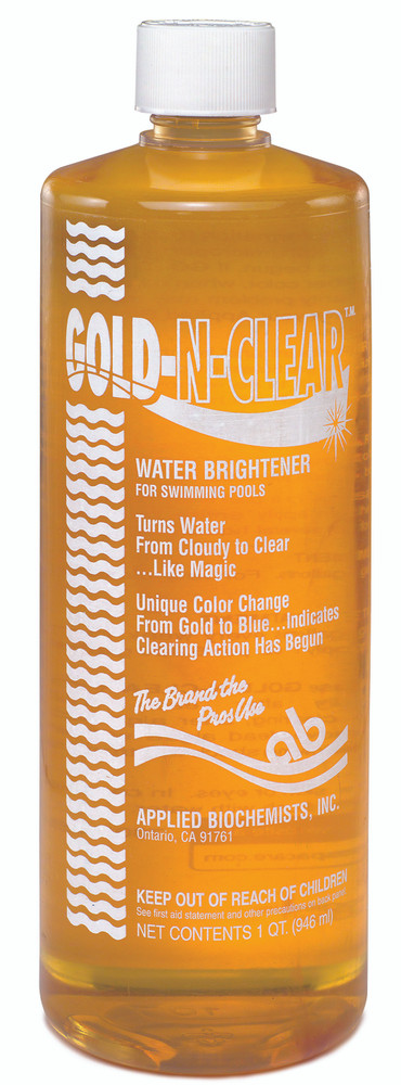 Appied Biochemists Gold-N-Clear clarifier - 1 qt  407803A