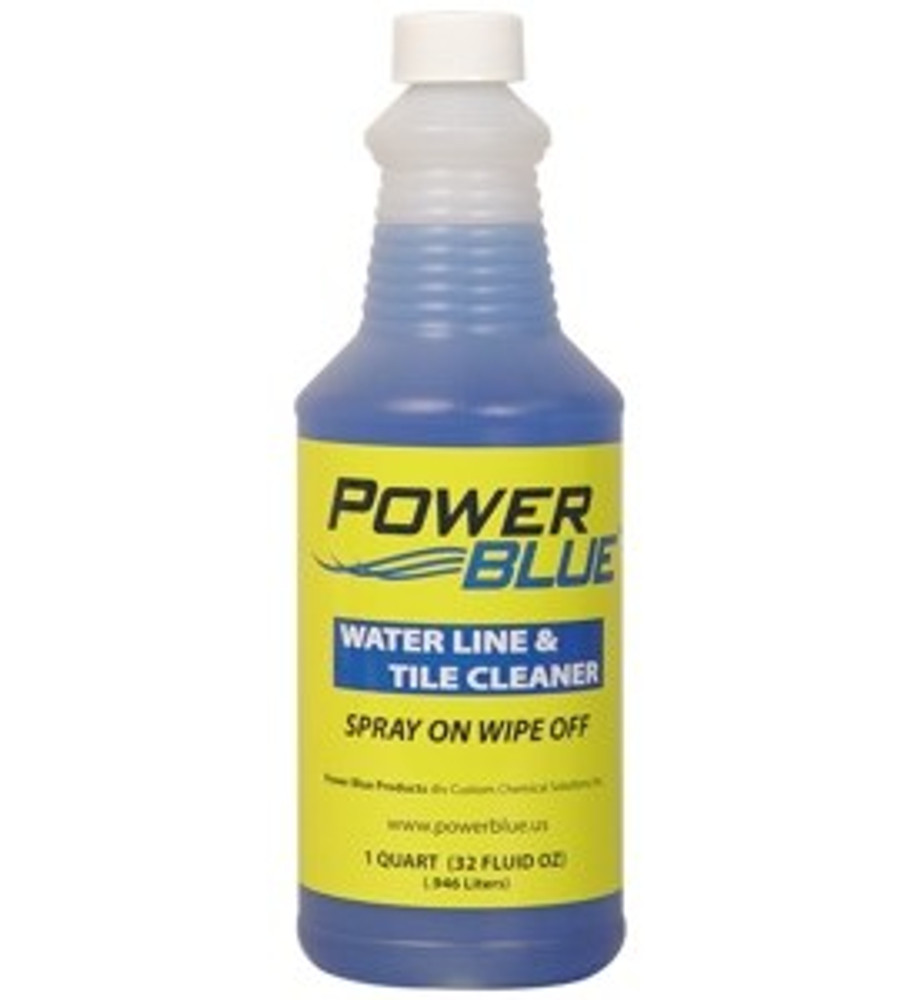 Power Blue Water Line & Tile Cleaner - 1qt