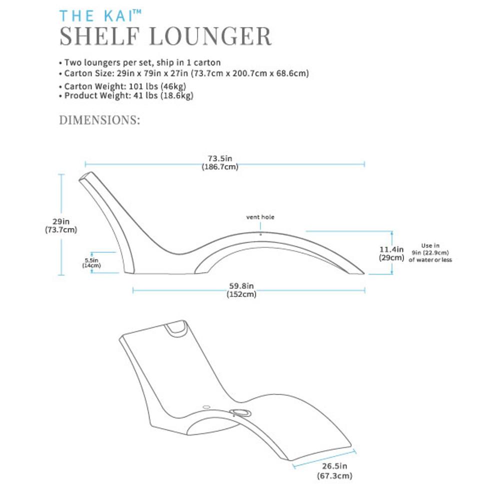 The Kai Shelf Lounger