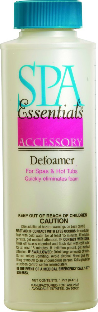 Spa Essentials Defoamer - 1 pt - 32424