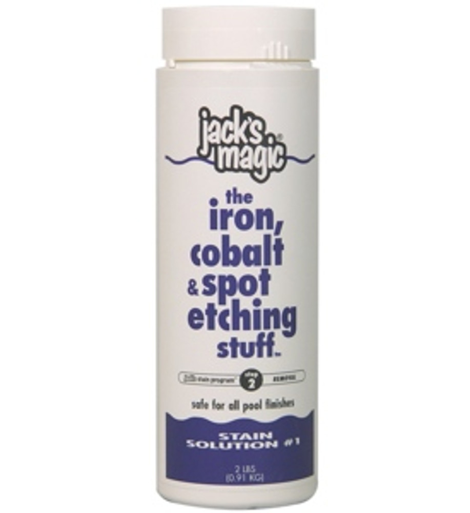Jack's Magic The Iron Cobalt & Spot Stuff - 2 lb  -  IRON2