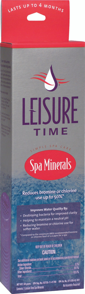 Leisure Time Spa Mineral Purifier
