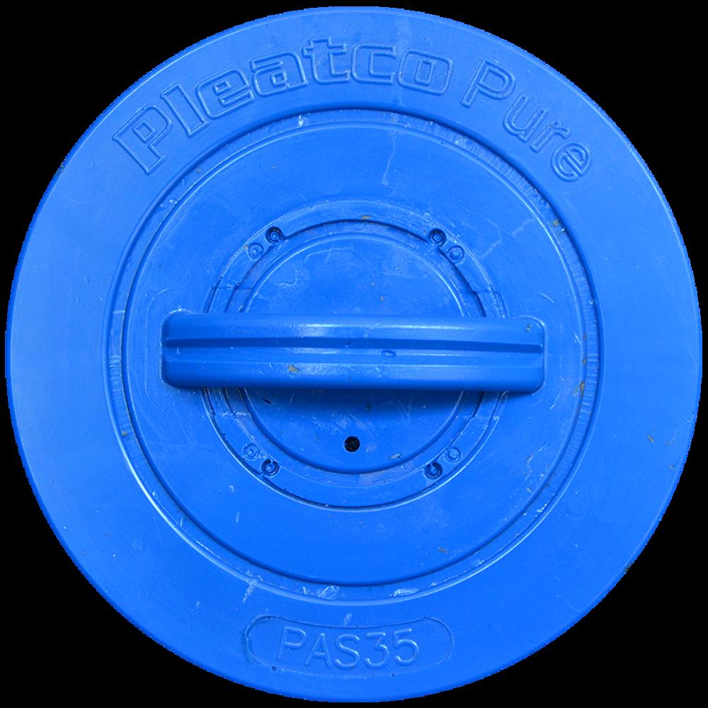 Pleatco PAS35P4 - Replacement Cartridge - Artesian Spas / Maax Spas - 35 sq ft, top