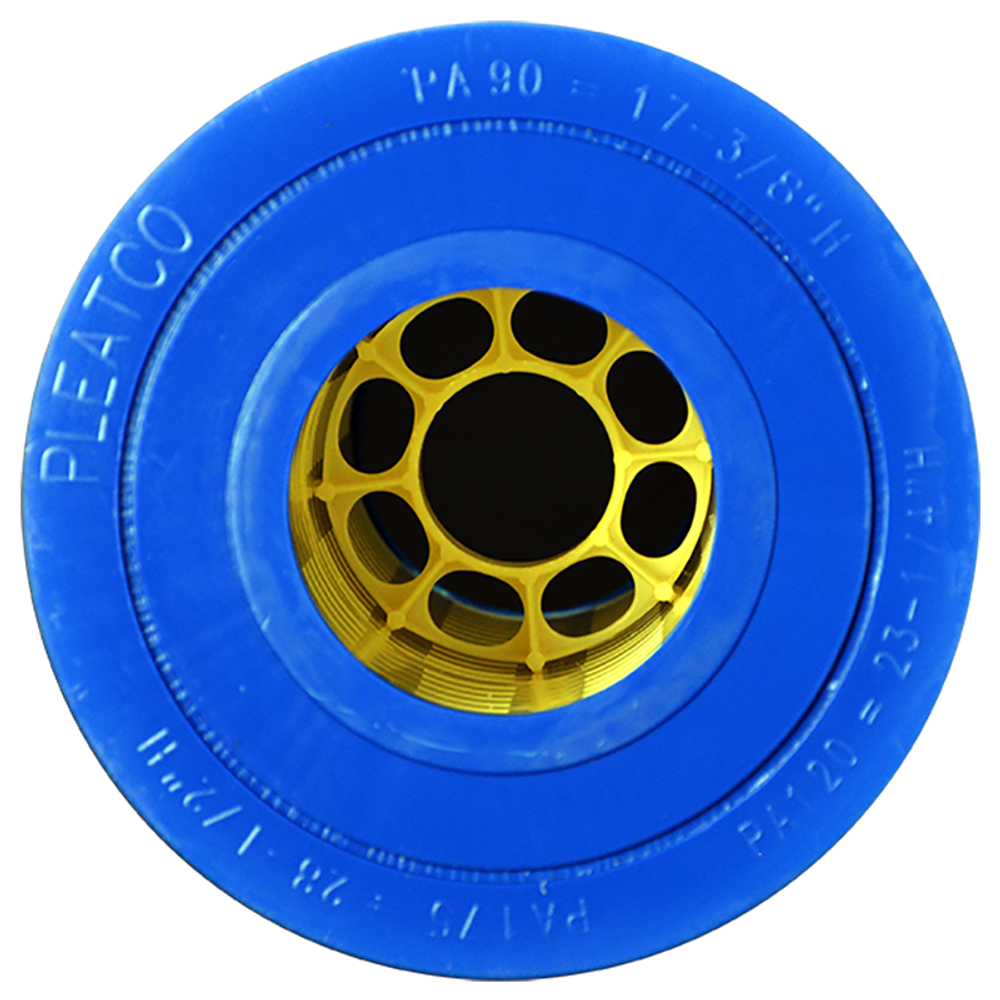 Pleatco PA90 - Replacement Cartridge - Hayward C-900 - 90 sq ft, bottom