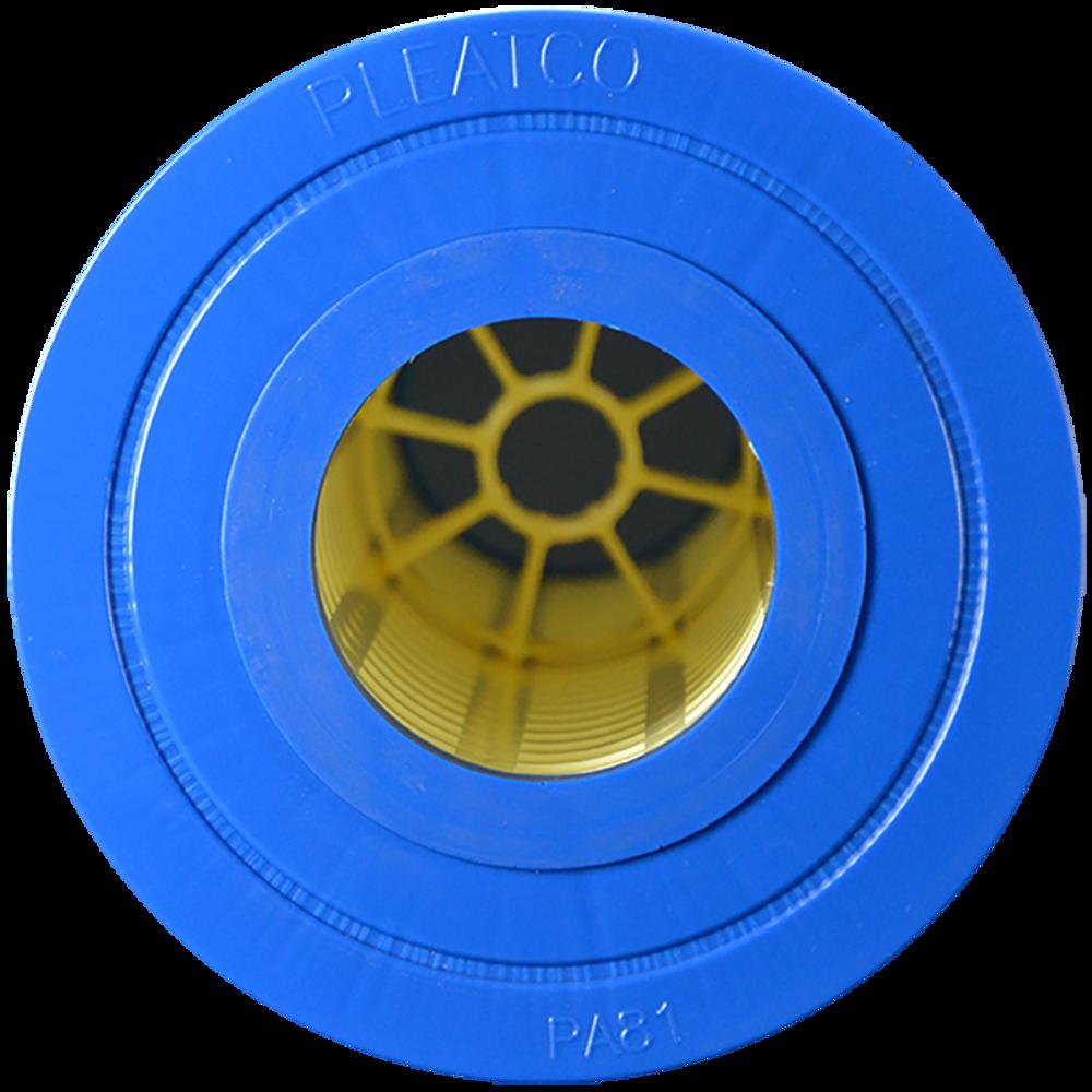 Pleatco PA81 - Replacement Cartridge - Hayward C-3025 - 81 sq ft, top