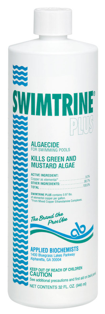 Applied Biochemists Swimtrine Plus algaecide  -  1 pt  -  406106