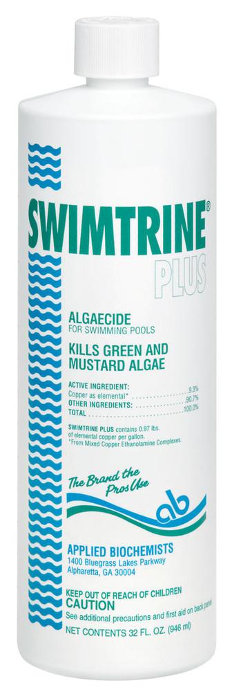 Applied Biochemists Swimtrine Plus algaecide  -  1 qt  -  406103