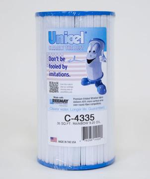 Unicel C-4335 Cartridge - Rainbow  - 35 sq ft