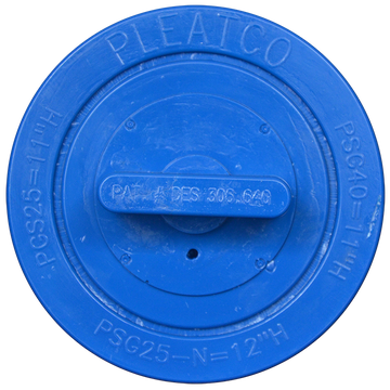 Pleatco PGS25P4 - Replacement Cartridge - Gatsby Spas / After Hours Spas - 25 sq ft, top