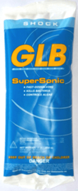 GLB SuperSonic chlorine shock - 1 lb