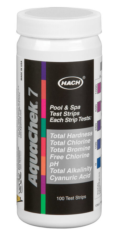 AquaChek Silver 7-Way Test Strips  -  551236