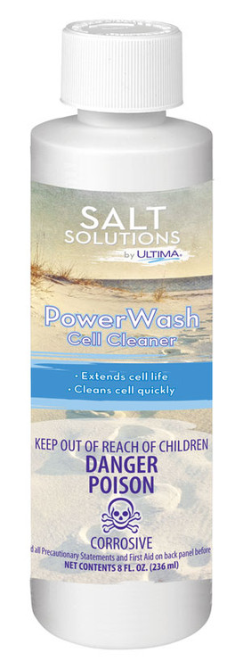 Salt Solutions by Ultima PowerWash Cell Cleaner - 8 oz  -  27828