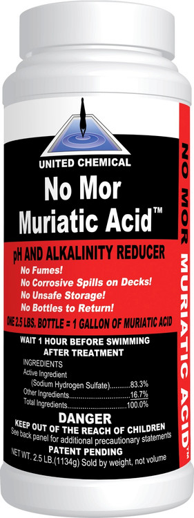 United Chemical No Mor Muriatic Acid - 2.5 lb  -  MURA-C12