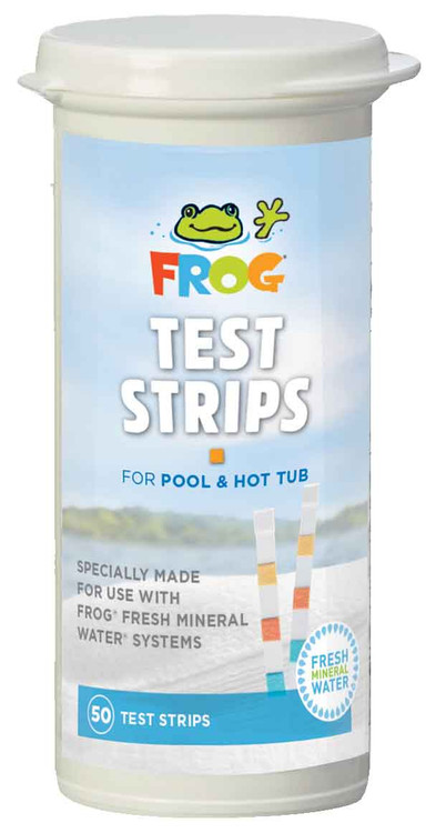 Frog Pool & Spa Test Strips  -  01-14-3318