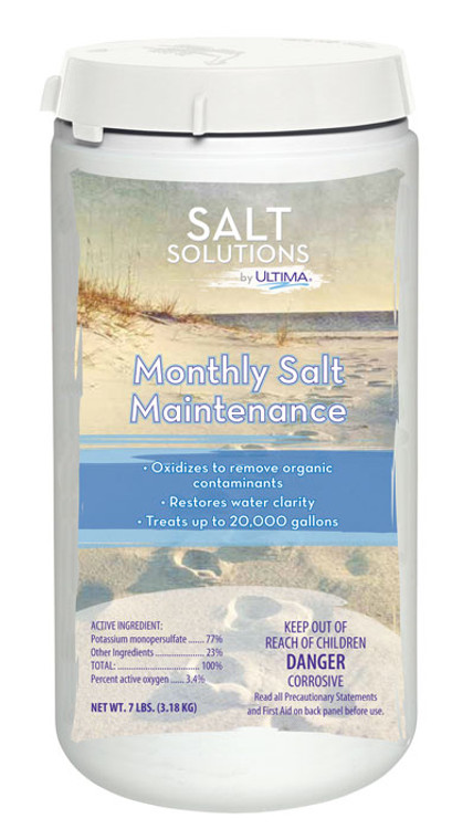 Salt Solutions by Ultima Monthly Salt Maintenance - 7 lb  -  26295