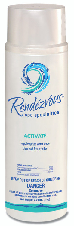 Rendezvous Spa Specialties Activate - 2.2 lb  -  106696