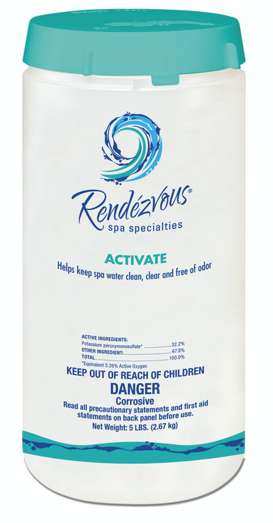 Rendezvous Spa Specialties Activate - 5 lb  -  106697
