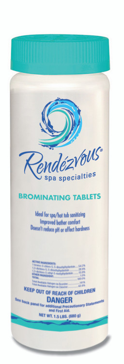 Rendezvous Spa Specialties Brominating Tablets - 1.5 lb  -  106712