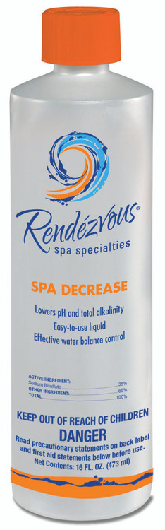 Rendezvous Spa Specialties Spa Decrease - 1 pt  -  106698