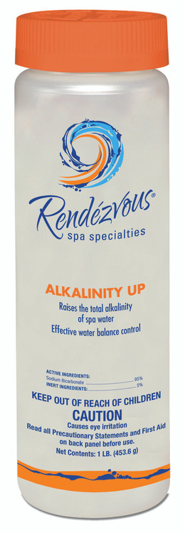 Rendezvous Spa Specialties Alkalinity Up - 1 lb  -  106693