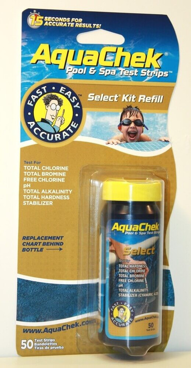 AquaChek Select Refill 7-in-1 Test Strips  -  541640A
