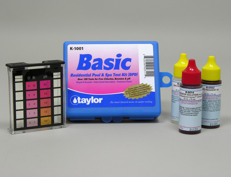 Taylor Technologies Basic DPD Test Kit - K1001