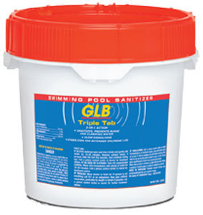 GLB TripleTab chlorinating tablets - 22.5 lb