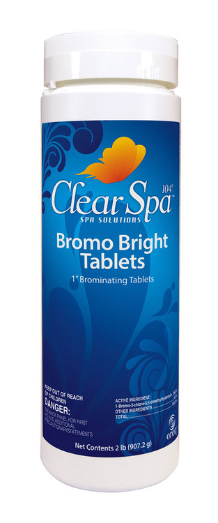ClearSpa 104 Bromo Bright Tablets - 1.5 lb  -  CSBR015