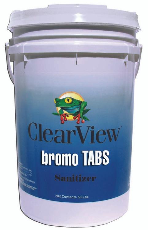 ClearView Bromo Tabs - 50 lb  -  CVBR050