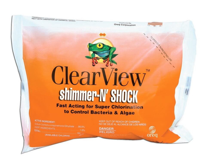 ClearView Shimmer-N' Shock - 1 lb  -  CVDB001