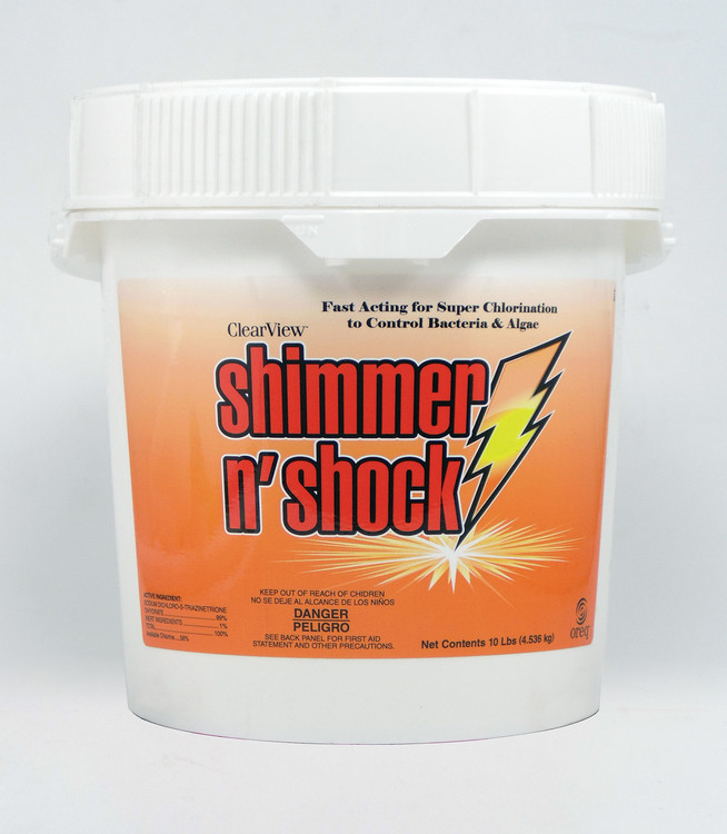 ClearView Shimmer-N' Shock - 10 lb  -  CVDB010