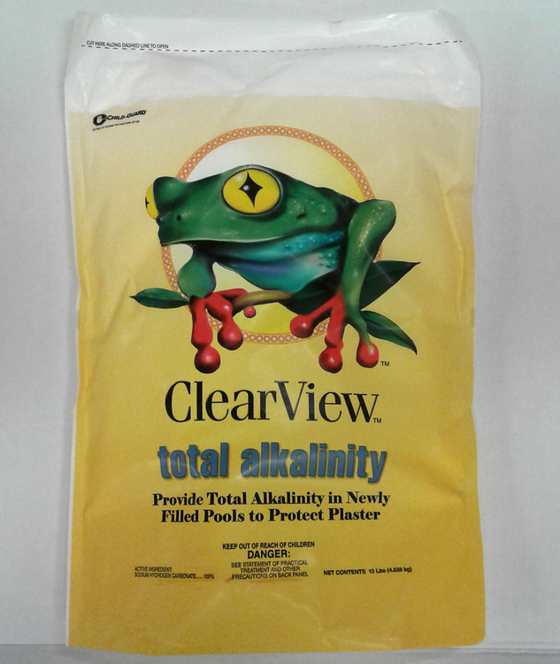 ClearView Total ALKALINITY - 10 lb  -  CVTA010
