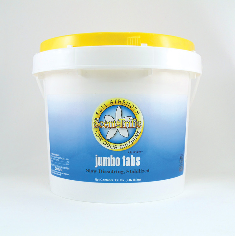 ClearView Scent-Trific Jumbo Tabs - 25 lb   CVTLST025