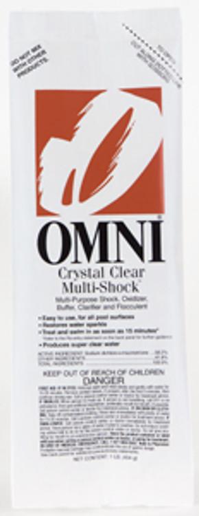 Omni Crystal Clear Multi-Shock - 1 lb  -  23032