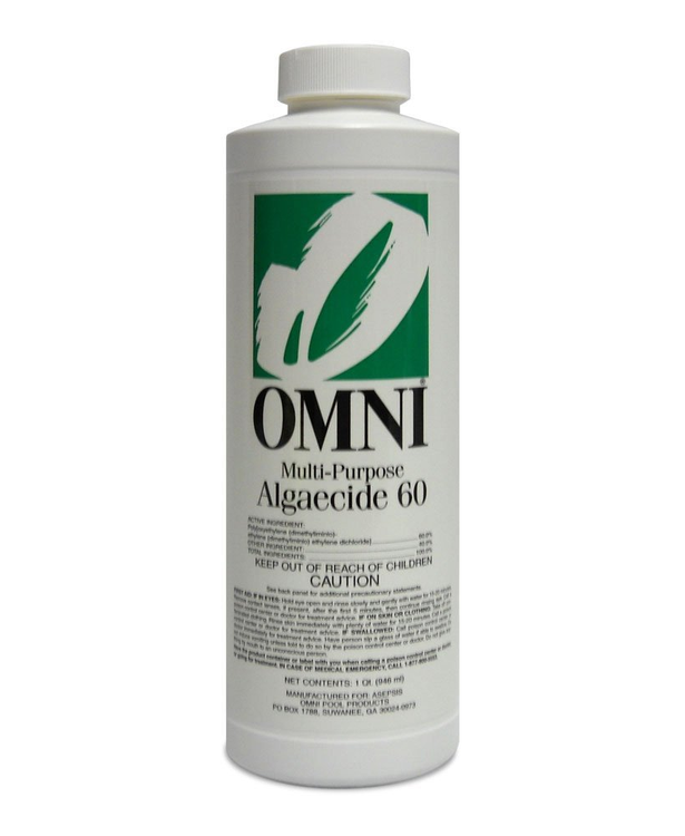 Omni Multi-Purpose Algaecide 60 - 1 qt  -  23060