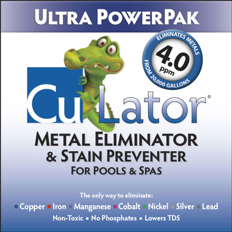 CuLator Ultra PowerPak Metal Remover & Stain Preventer  -  ULT