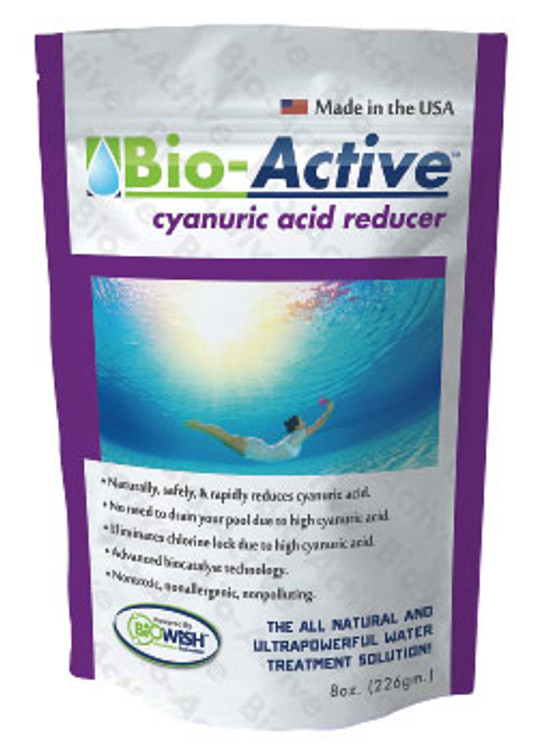 Bio-Active Cyanuric Acid Reducer, 8oz  -  008Z