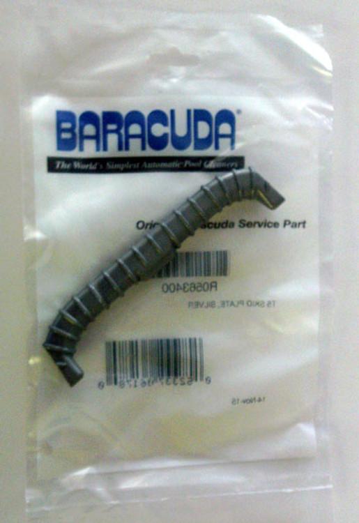 Zodiac Baracuda T5 Skid Plate, Silver, Old Part # R0508700  -  R0563400