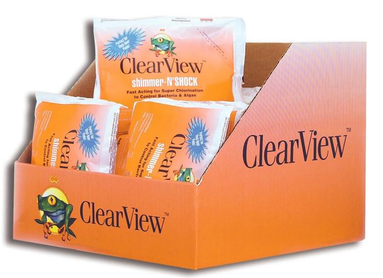 ClearView Shimmer-N' Shock - 24 x 1 lb  -  CVDB001-24