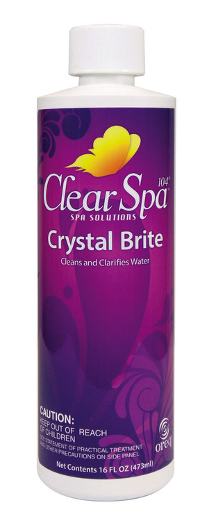 ClearSpa 104 Crystal Brite - 16 oz  -  CSLCBPT12